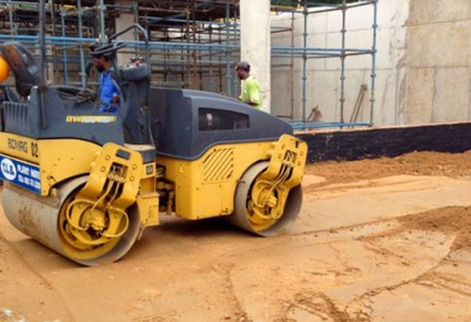 KZN South Coast Plant hire: BOMAG BW120AD-4 2.5T DOUBLE ROLLER
