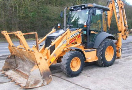 KZN South Coast Plant hire: CASE 580SR 4X4 BACKHOE LOADER