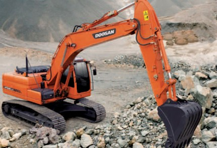 Margate, South Coast Plant hire: DOOSAN DX225LCA 20T EXCAVATOR