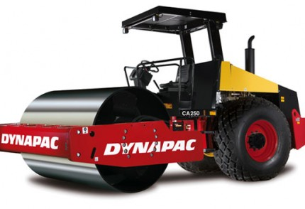 KZN South Coast Plant hire: DYNAPAC CA250 10T SMOOTH DRUM ROLLER