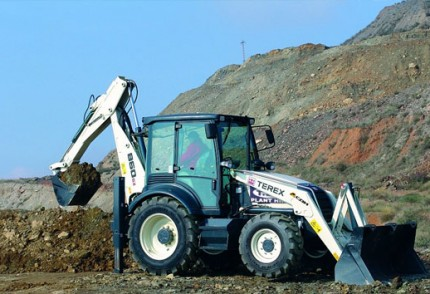 South Coast Plant hire: TEREX 860SX 4X4 BACKHOE LOADER