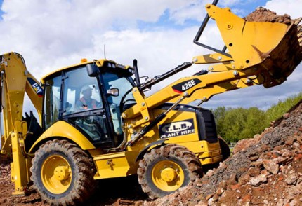 Plant hire: CAT 428E 4X4 BACKHOE LOADER