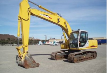 South Coast Plant hire: SUMITOMO SH200 20T EXCAVATOR