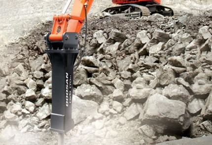 South Coast Plant hire: HAMMER FOR EXCAVATOR