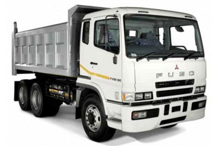 South Coast Plant hire: FUSO FV26-310 6 X 4 10M3 TIPPER