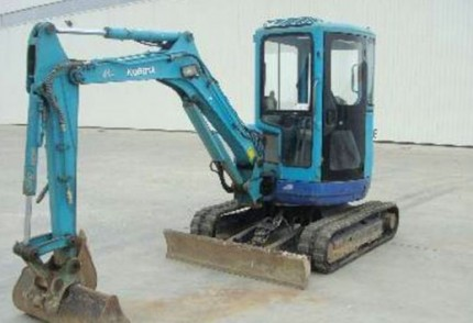 KZN South Coast Plant hire: KUBOTA 3.5T EXCAVATOR