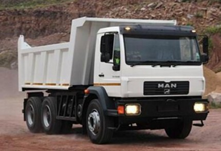 South Coast Plant hire: MAN M2000 26.284 10M3 TIPPER