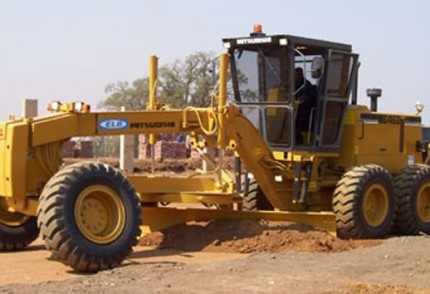 South Coast Plant hire: MITSUBISHI MOTOR GRADER MG460